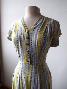 I love 50s house dresses.