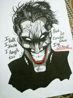 #joker #dc #batman #sketch
