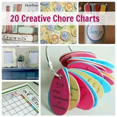 Happy Helpers: 20 Creative Chore Charts for Kids