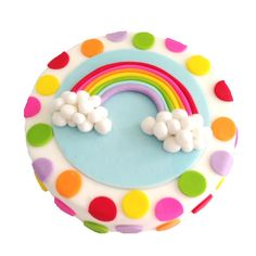 RAINBOW CAKE RESCUE KIT $54.95 This fantastic DIY Cake Rescue Kit comes with all you need to Bake and Decorate this Rainbow Cake including disposable baking tray, silver cake board, cake mix, icing, pre-coloured fondant and all other decorating ingredients. Heaps of fun!