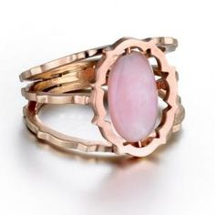 Zaiken Jewelry pink jade ring