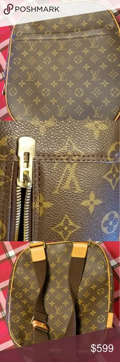Louis Vuitton crossbody bag LikeNew Gorgeous Louis Vuitton cross body bag. Trademark LV zipper pulls and sewn in tag.  I need tuition not designer bags (passive aggressive gifts from my stepmother)   New without tags.   Accepting reasonable offers. Louis Vuitton Bags