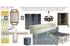 "Shop the Look: id810 Design's ""Catch Me if You Can"" Powder Room"
