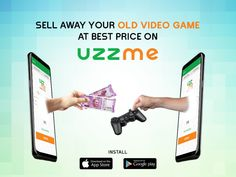 Want to replace your old video game with a new one? Why leaving the old in storeroom if you can sell at good cost. Sell your old things on Uzzme App App Store Google Play, Old Video, Hyderabad, Video Game, Games, Video Games, Gaming, Videogames, Game