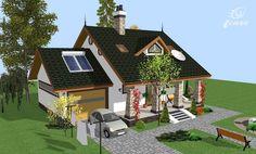 Modele de case cu open space - arhitectura de la munte