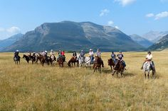 Our writer heads out on a multi-generational horseback riding adventure in Waterton Lakes National Park