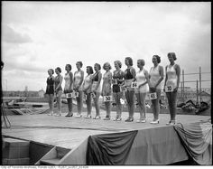 Canadian National Exhibition Miss Toronto Beauty Contest 1936