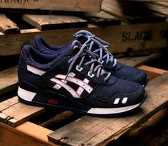 Ronnie Fieg x Asics Gel Lyte III-Selvedge #sneakers #kicks