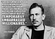 John Steinbeck on politics in America