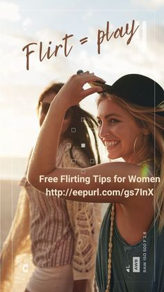 Flirting is a form of play. You do it for the fun of it. Women sign up for free weekly tips on flirting from Shelly O'Connell, Flirting Coach for women. Flirting, Coaching, Finding Yourself, Play, Tips, Fun, Women, Training, Hilarious