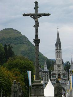 Lourdes, France  Find Super Cheap International Flights to Lourdes, France ✈✈✈ https://thedecisionmoment.com/cheap-flights-to-europe-france-lourdes/