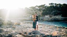Sesja ślubna na Majorce! Zakochani wśród blacku słońca na plaży. Pięknie! Vertigo, Niagara Falls, Concept, Photoshoot, Couples, Nature, Travel, Naturaleza, Viajes