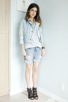 Perfecting the Canadian Tuxedo | Man Repeller