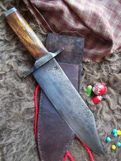 Blade Magazine shared Bowie knife and Tomahawk History.'s photo.