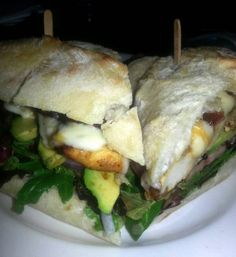 GRILLED CHICKEN SANDWICH  $10 Lettuce, Tomato, Avocado, Cheese & Onions w/ Chipotle Aioli with Side O' French Fries