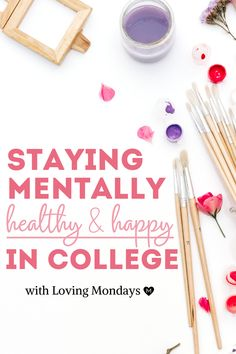 Learn how to maintain a positive mental health in college with Loving Mondays' college planner. Our college planner allows you to focus on mental health and self care, making sure that nothing stands in the way of your success. Begin your journey today! College Advisor, College Hacks, College Life, College Years, Boston College, School Hacks, Goals Planner, Life Planner, Happy Planner