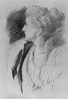 John Singer Sargent - Mrs Asquith