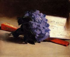 Edouard Manet:  A bouquet of violets