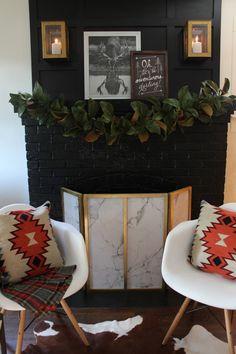 Our Christmas Luxe Lodge  Pour plus d' inspiration visite www.ideesdecomaison.ch  #homedecorideas #decoration #noel