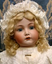 "Breathtaking Antique 29"" Mein Liebling by Kammer & Reinhardt German Character Doll Exemplary Model!"