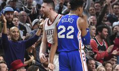 online retailer 32cc1 53590 NBA playoff race  Jusuf Nurkic has Blazers on tail of his former team
