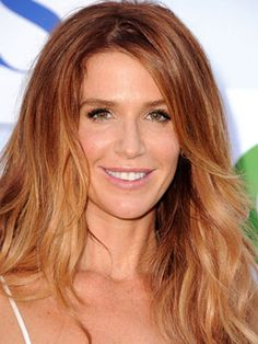 Poppy Montgomery Hair Color 2013