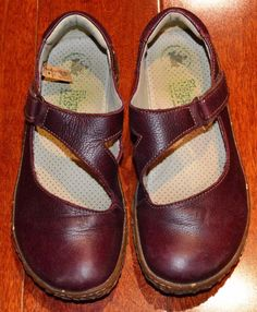 Girls El Naturalista Mary Jane, Brown Leather, size 5.5 (EU 36), Made in Spain #MaryJanes
