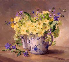 Primroses in a Teapot