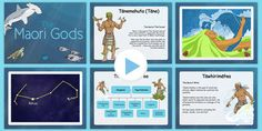 The Maori Gods PowerPoint - nz, new zealand, Maori Gods, legends myths