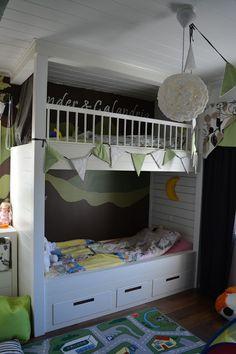 Unelmien koti Koti, Bunk Beds, Furniture, Home Decor, Decoration Home, Loft Beds, Room Decor, Home Furnishings, Home Interior Design