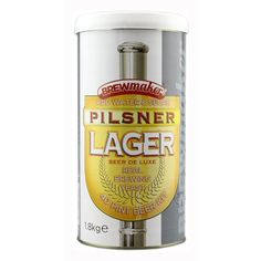 Items similar to Brewmaker Pilsner Lager beer kit homebrew on Etsy - Brewmaker Pilsner Lager beer kit by TheHomeBrewShop on Etsy - Lager Beer, Brewing Company, Home Brewing, Beer Kits, Water, Etsy, Gripe Water, Home Brewing Beer