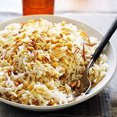 Reader Christine Datian, from Las Vegas, suggests serving her traditional Armenian pilaf, made with both rice and toasted pasta, alongside roasted lamb or chicken and a green salad.