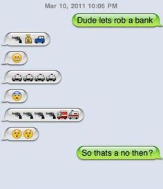 Possibly a fake/set up in texts, but still cute. funny!