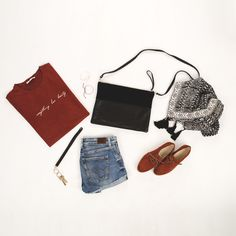 BLACK MIX TRAPEZO #bag #shoes #outfit #urban #shorts #shirt #fashion #keyring