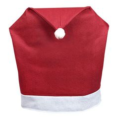 Santa Hat Christmas Chair Slip Covers