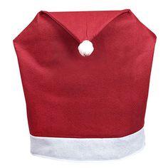 Santa Hat Christmas Chair Slip Covers
