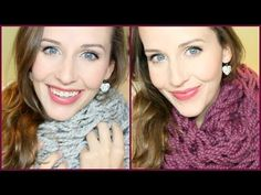 Bulky Fall Scarf DIY: Arm Knitting Tutorial - Laceys Beauty Reviews