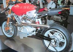 Sachs Beast -   1000 Concept 2002-Liquid cooled, four stroke, V-twin, 4 valve per cylinder