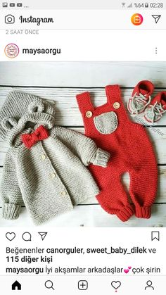 Crochet For Boys, Knitting For Kids, Newborn Crochet Patterns, Silicone Reborn Babies, Baby Suit, Crochet Baby Clothes, Baby Pants, Overall, Baby Sweaters