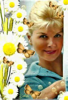 Fresh as a daisy. Doris Day.
