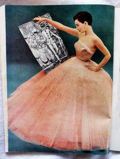 DIOR GOWN La Femme Chic - Winter 1950