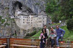Felipe, o pequeno viajante: Castelo de Predjama, na Eslovênia - o mais incrível de todos