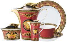 The TrueSelf | versace medusa dinnerware set