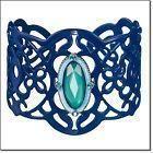Blue Openwork Cuff Bracelet - AVON