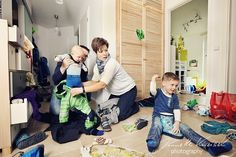 Chaos-Familienshooting Anziehterror!
