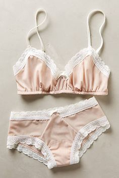 Hanky Panky Sheer Fawn Hipsters I really like Anthro lingerie