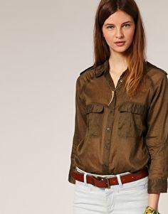 Safari shirt by MiH Jeans.