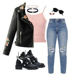 """Untitled #33"" by sofiatorres10895 on Polyvore featuring Pilot, WithChic, Balenciaga and Dolce&Gabbana"