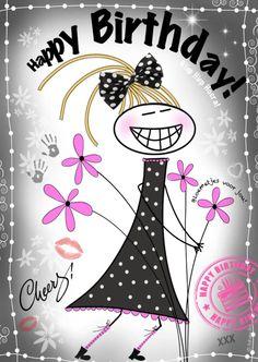 Happy Birthday H4Y, verkrijgbaar bij #kaartje2go voor € 1,89