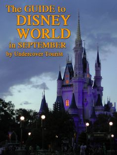 Disney World (and other Orlando-area parks) - planning for September